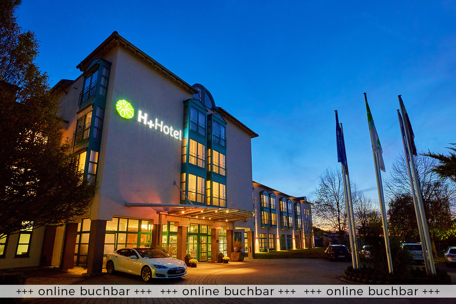 Experience 3 days holiday at the 4* H+ Hotel Limes Thermen Aalen