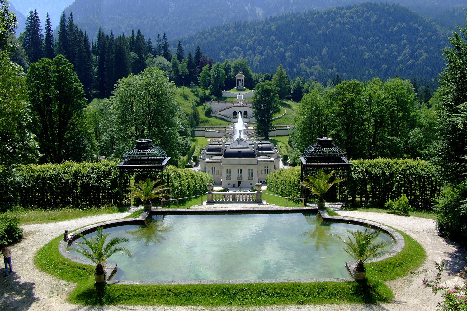 3 royal days in the Schlosshotel Linderhof