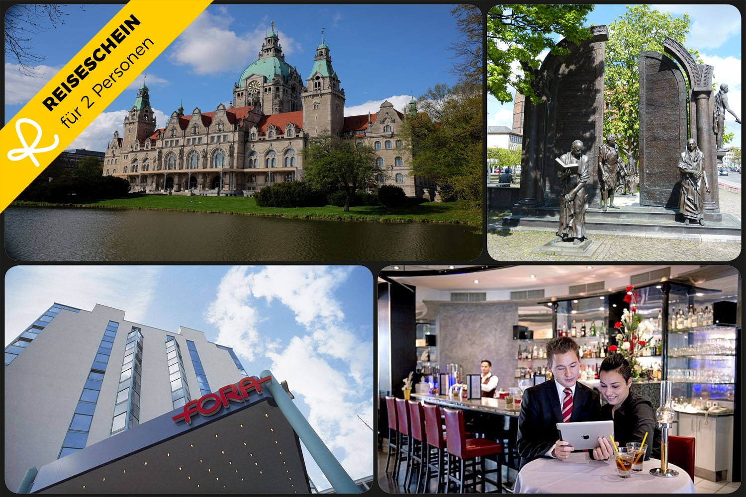 3 Tage im **** Fora Hotel Hannover in Hannover ...