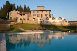 Toskana Italienurlaub nahe Florenz in der Villa San Filippo in San Filippo