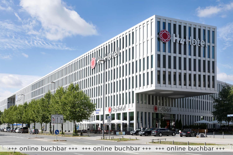 3 Tage Urlaub im 4*S H4 Hotel München Messe in der Weltstadt mit Herz – Anreise: Montag bis Sonntag