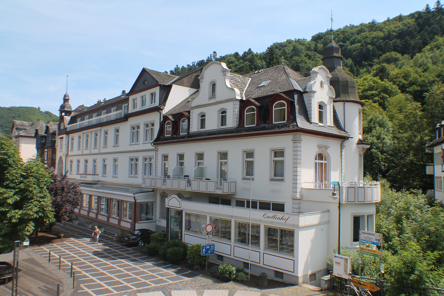 6 Tage Wellness an der Mosel im Kurhotel Quellenhof in Bad Bertrich