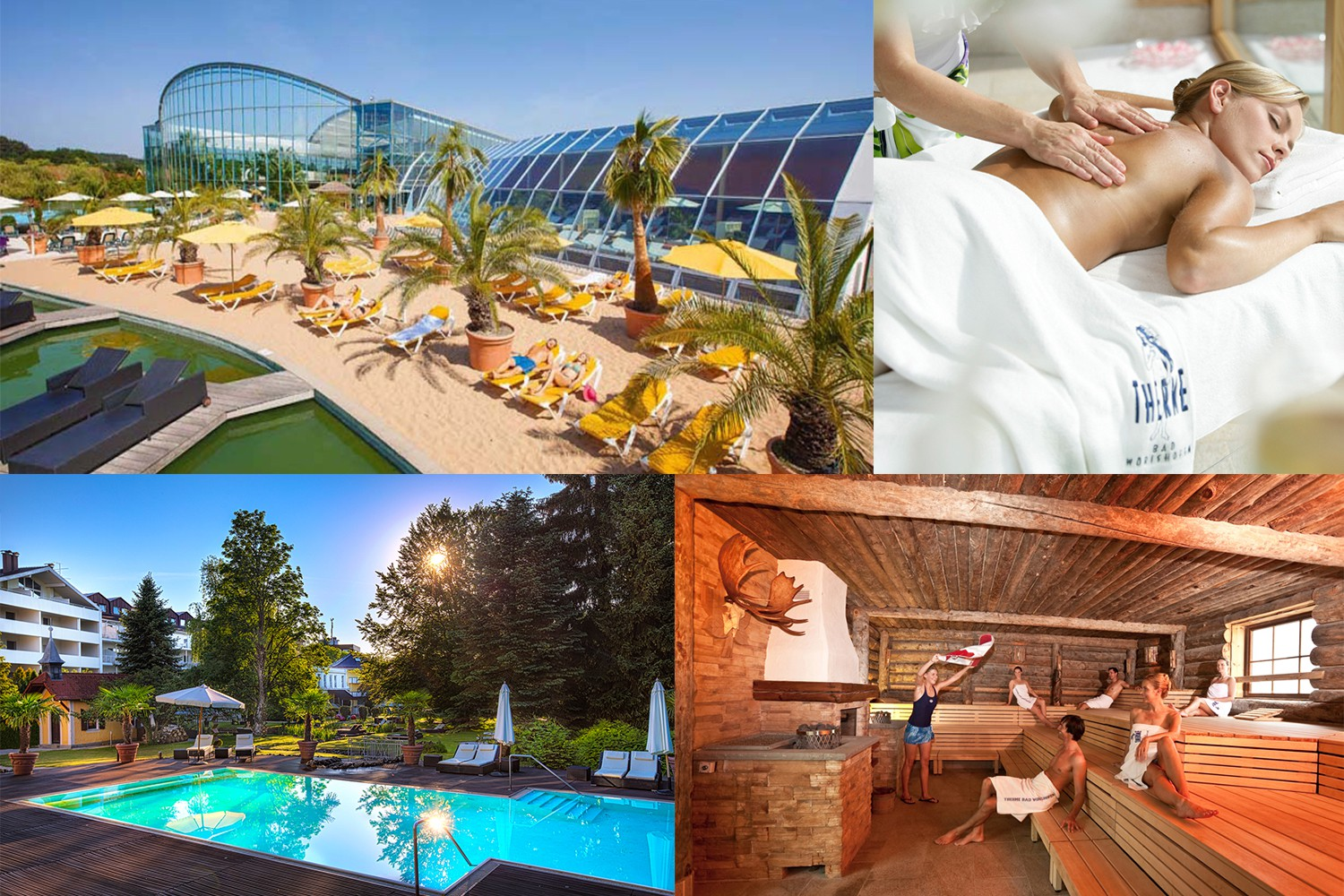 4 days in 4*S Park Hotel Residence in Bad Wörishofen & 2 tickets for the THERME Bad Wörishofen