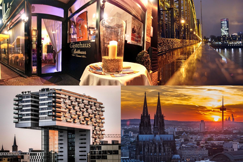 4 Tage Urlaub im Balthasar Neumann Gästehaus in der Domstadt Köln erleben