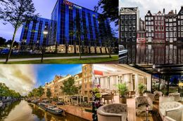 3 days for two at the 4* OZO Hotel Amsterdam at the capital of the Netherlands