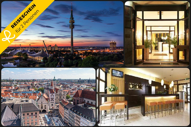 3 Tage zu zweit im GHOTEL hotel & living Münche...