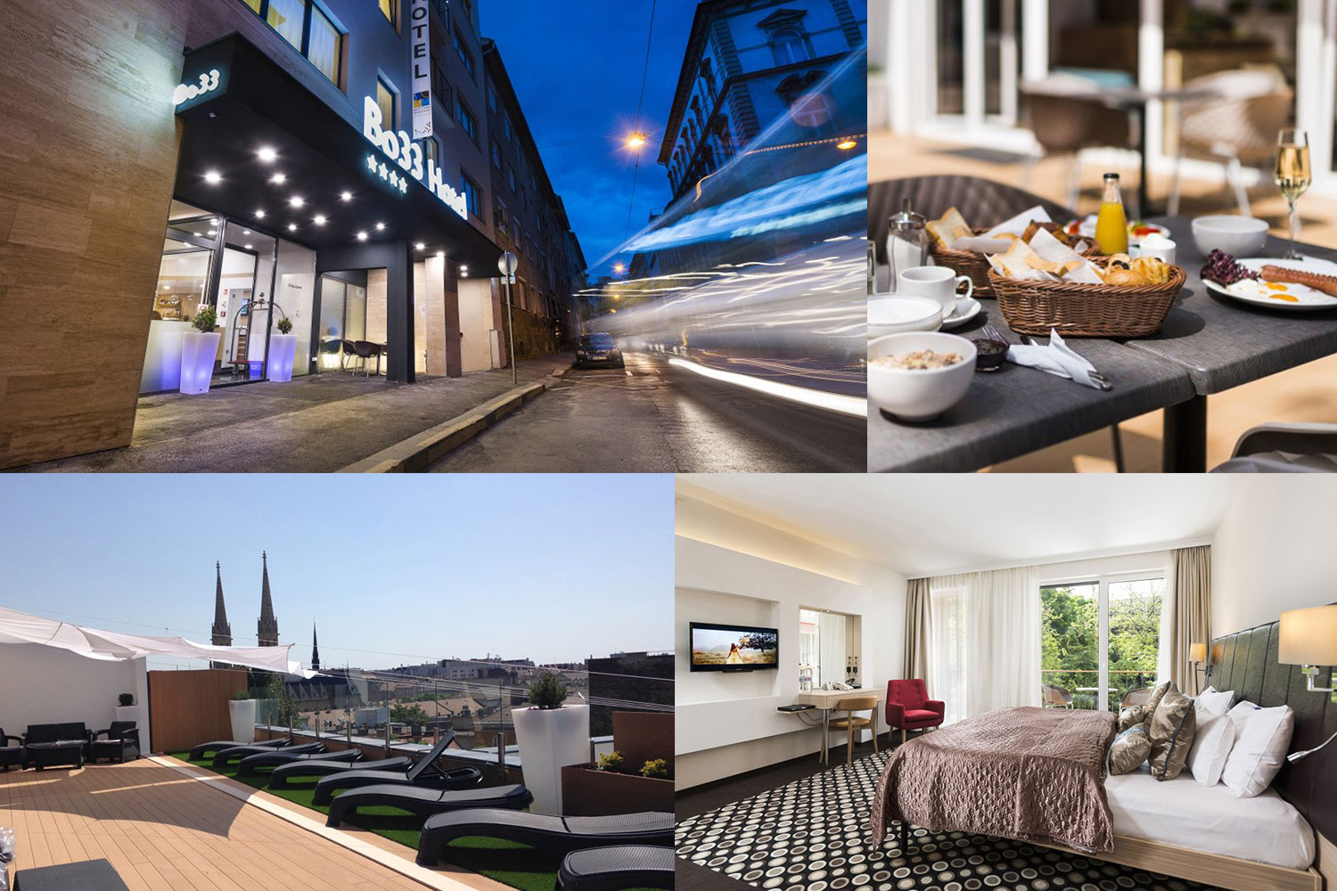 4 Tage im **** Bo33 Hotel Family & Suites in Budapest erleben