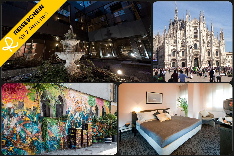 3 Tage im 4* Hotel Comtur nähe Milano endecken ...