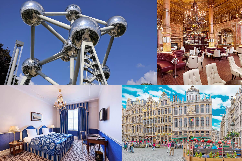 3 Tage Luxus für zwei im ***** Hotel Metropole in Brüssel erleben