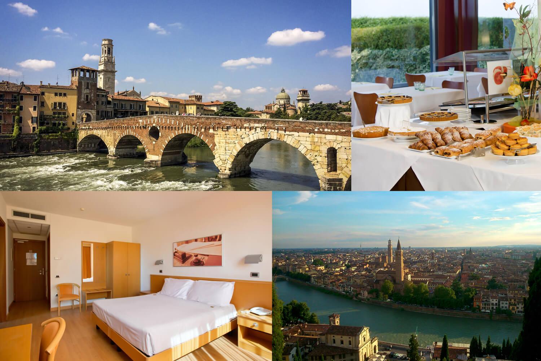 3 Tage für zwei im 4* Hotel Montemezzi in Verona / Italien erleben