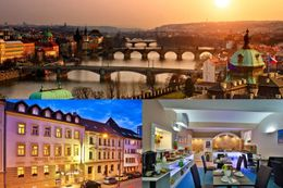3 days for 2 at the 3* Marketa Hotel in the Czech capital Prague
