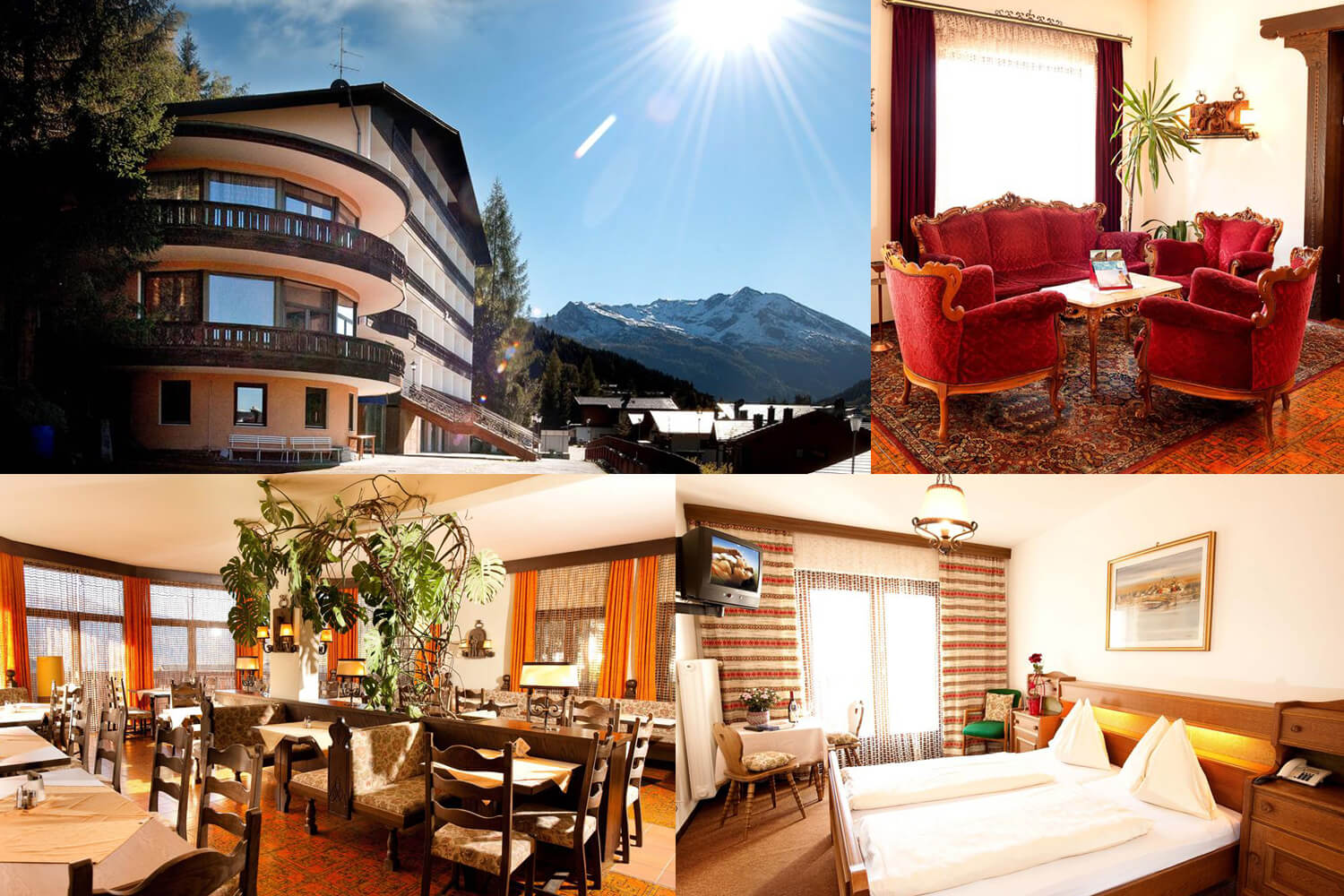 3 Tage Kurzurlaub Halbpension im Panoramahotel Pawlik in Bad Gastein - 30.03. - 27.04.2019