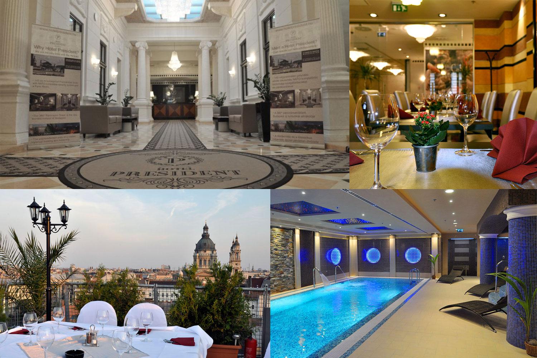 3 Tage im 4* Hotel President Exclusive Boutique in Budapest erleben - inkl. 1 x Abendessen