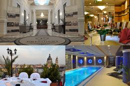 4 Tage im 4* Hotel President Exclusive Boutique in Budapest erleben - inkl. 1 x Abendessen 001