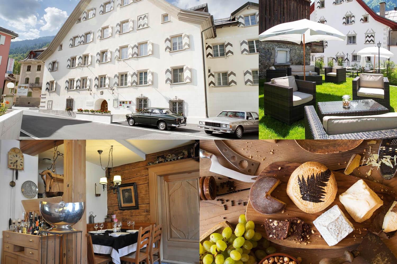 Kurzurlaub für zwei im Hotel Casa Tödi Truns in Graubünden
