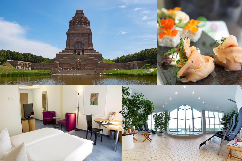 3 Tage Kurzurlaub für zwei im 4* Atlanta Hotel International Leipzig